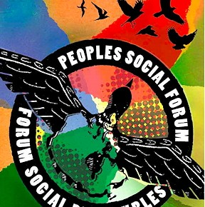 Peoples Social Forum logo