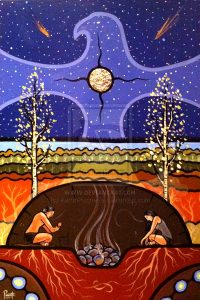 """Teachings of the Sweatlodge,"" © A. Paquette, 2010"